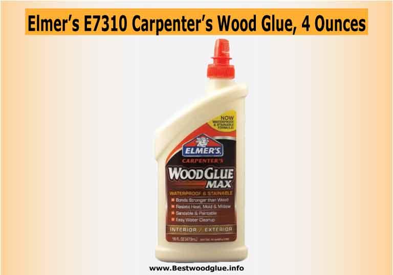 Elmer's E7310 Carpenter's Wood Glue, 4 Ounces