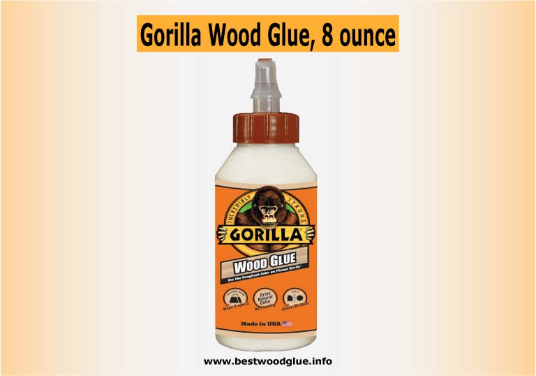 Gorilla Wood Glue, 8-ounce Bottle