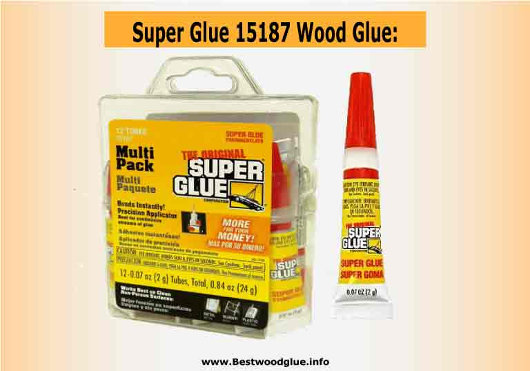 Super Glue 15187 Wood Glue