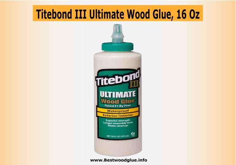 Titebond III Ultimate Wood Glue, 16 Ounces