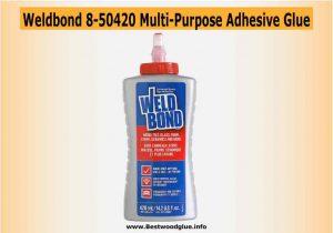 Weldbond 8-50420 - 14.2-oz - Best strengthen bond Glue