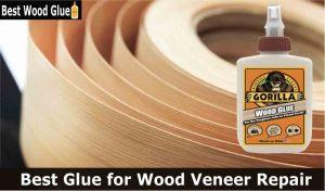 Best glue for wood veneer repair