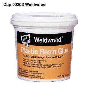 Dap Weldwood Plastic Resin laminating glue