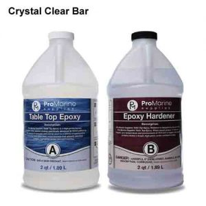 Pro Marine Supplies Crystal Clear Bar Table Top