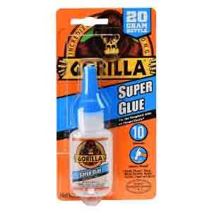 Gorilla Super Glue toilet crack repair