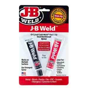J-B Weld 8265S Epoxy Glue toilet repair